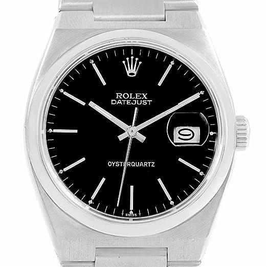 Rolex oysterquartz cuarzo Mens Reloj 17000 (Certificado) de segunda mano: Rolex: Amazon.es: Relojes