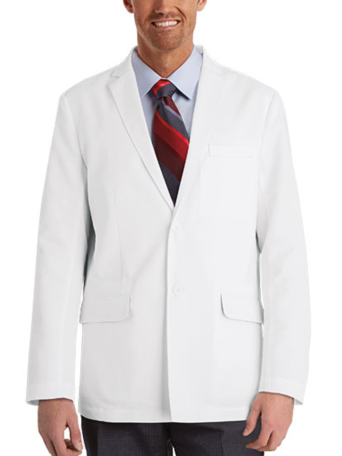 Grey's Anatomy 0916 Men's Lab Consultation Coat White 38