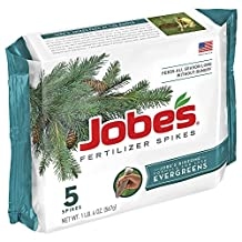 Jobes Evergreen Spikes 5-pack Model 1001 Pack of 12