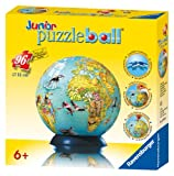 Ravensburger Children's Globe - 96 Piece puzzleball