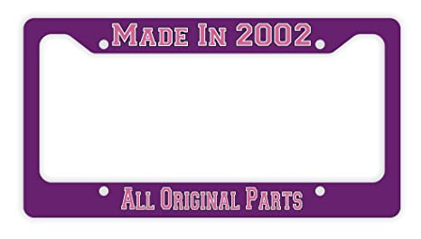 ThisWear 16th Birthday Gifts Made 2002 All Original Parts Pink Funny For Girls