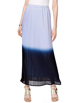 71f9b6bc9 Cable & Gauge Cupio Pleated Ombre Maxi Skirt at Amazon Women's Clothing  store: