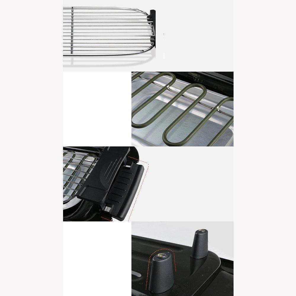 Huifang Farbe grills QFFL dainkaolu Grill-Regal-rauchloser Grill-Haushalts-elektrischer Grill-Fleisch-Maschinen-elektrischer Ofen-Grill-3 Farbe Huifang wahlweise freigestellt 600  113  365mm 07d1a7