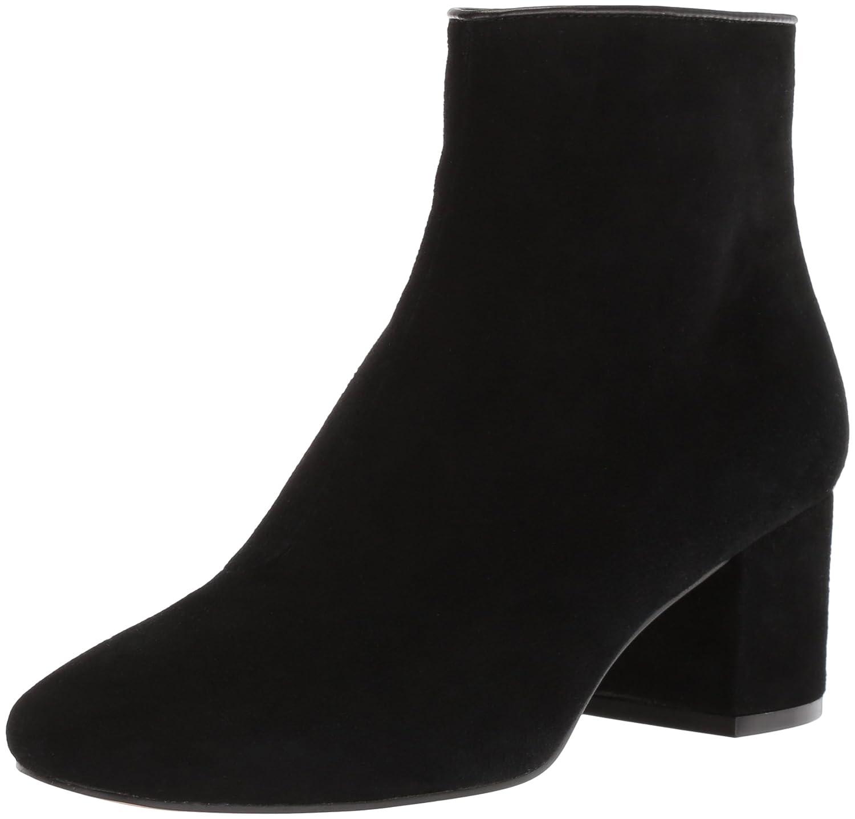The Fix Women's Daniella Block-Heel Bootie Ankle Boot B0771268PX 11 B(M) US Black Suede