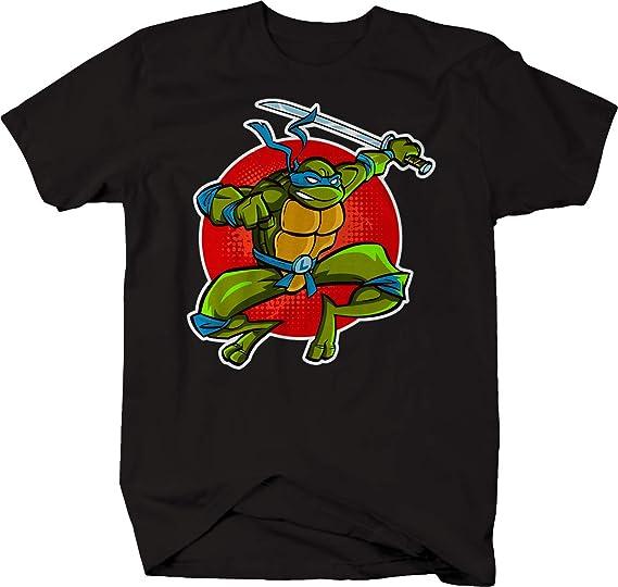 Amazon.com: Ninja Leonardo Turtle Jumping with Sword ...