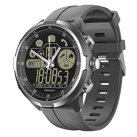 OOLIFENG Smartwatch de Hombres con Podómetro 1.24