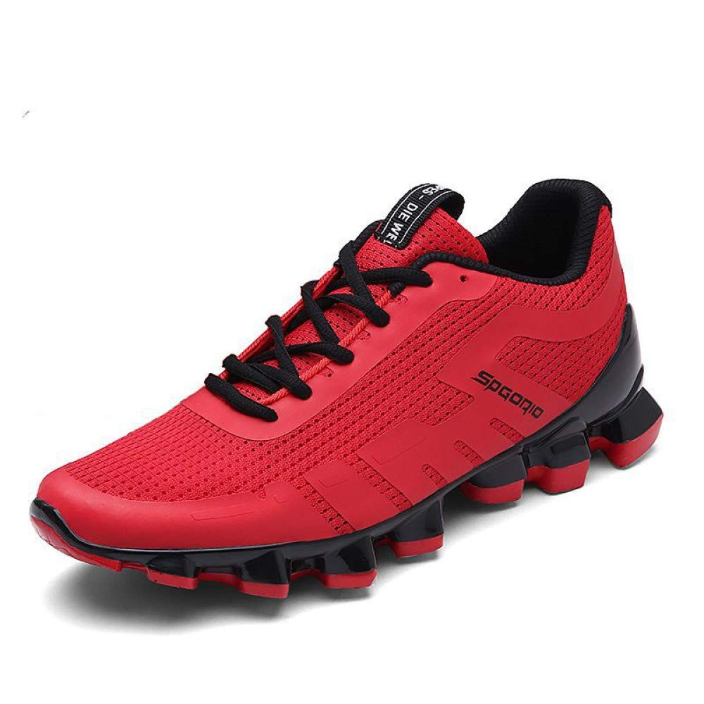 Hasag Chaussures de Running Sport New Men's Running de Shoes Respirant 44|B red 22047a