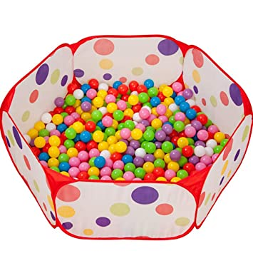 Kids Boys Girls Educational 1.5m Tent Baby Toy Ball Pool With ball Basket