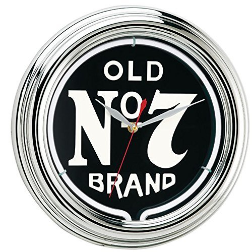 Jack Daniel's Old No. 7 Neon Clock by Jack Daniel's, used for sale  Delivered anywhere in USA