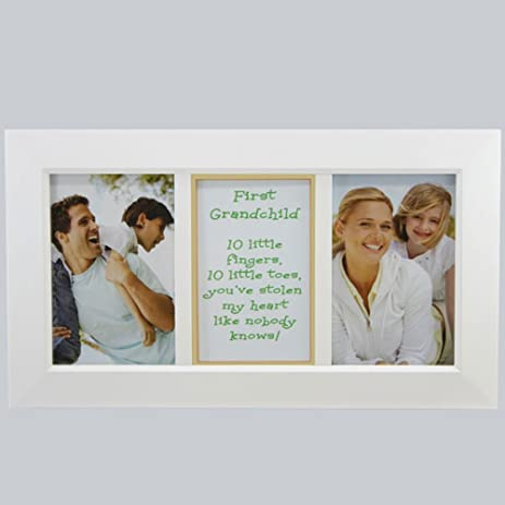 Amazon.com - First Grandchild Frame - Gift for New Grandparents ...