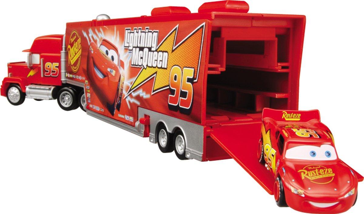 amazoncom disney pixar cars mack truck action trailer toys games - Disney Cars Toys Truck