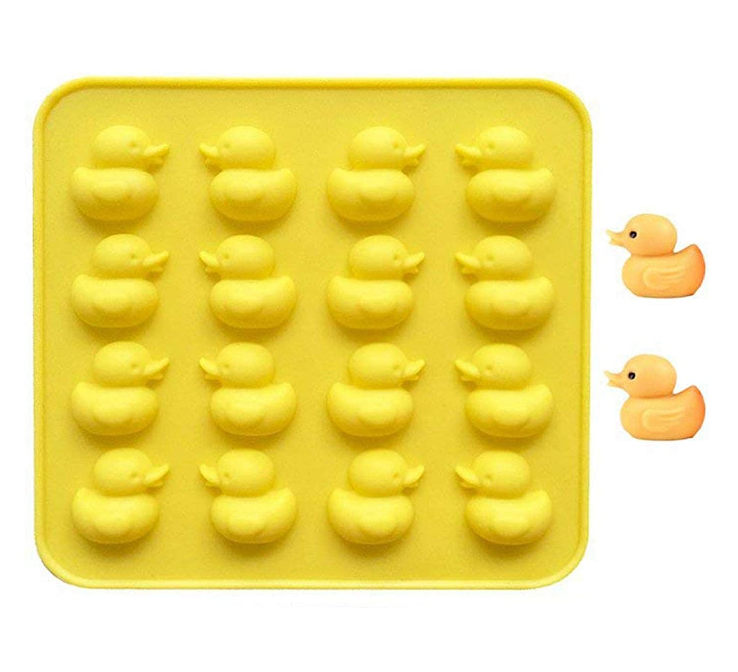Vertily Chocolate Mould,Silicone Gel Non-stick Chocolate Jelly and Candy Mold Cake Baking Mold Chocolate Cupcake Ice Soap Butter Molds Easter Baking Tools Silicone Baking mold Making Kit