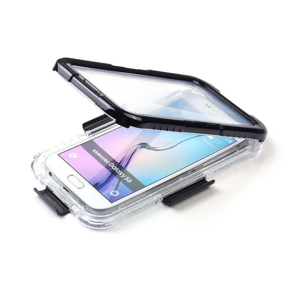 Waterproof Shockproof Dust Proof Life Cover Case For Lifeproof Samsung Galaxy S6 Fre 77 51242 Black Edge Cell Phones Accessories
