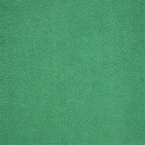 Cedar Creek 12''x16'' Premium Plush Microfiber Cleaning Cloths, Professional Grade, Green, 144 Case Value Pack by Cedar Creek (Image #1)