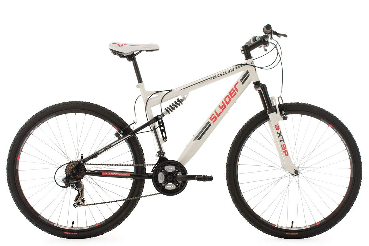 KS Cycling Fahrrad Mountainbike MTB Fully Slyder 523M