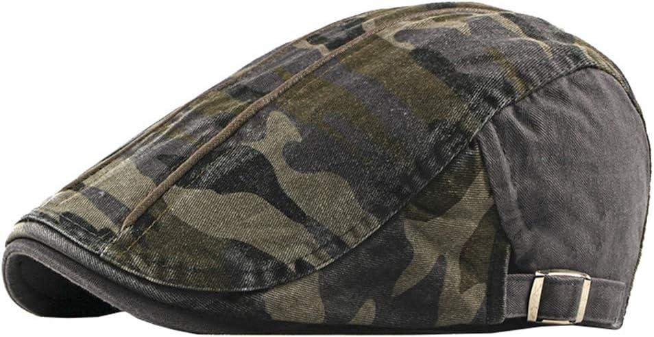 Military Camo Newsboy Caps Beret Hat Ivy Gatsby Cabbie Driving Hats