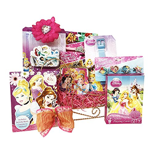 Disney Princess Sleigh Christmas Gift Baskets | Christmas Gift Baskets for girls to have a look like princess A perfect Christmass gift basket for kids to create a very special Christmas