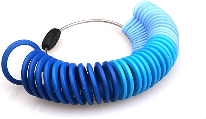el anillos Medidor de , los anillo midiendo diámetro plástico ...