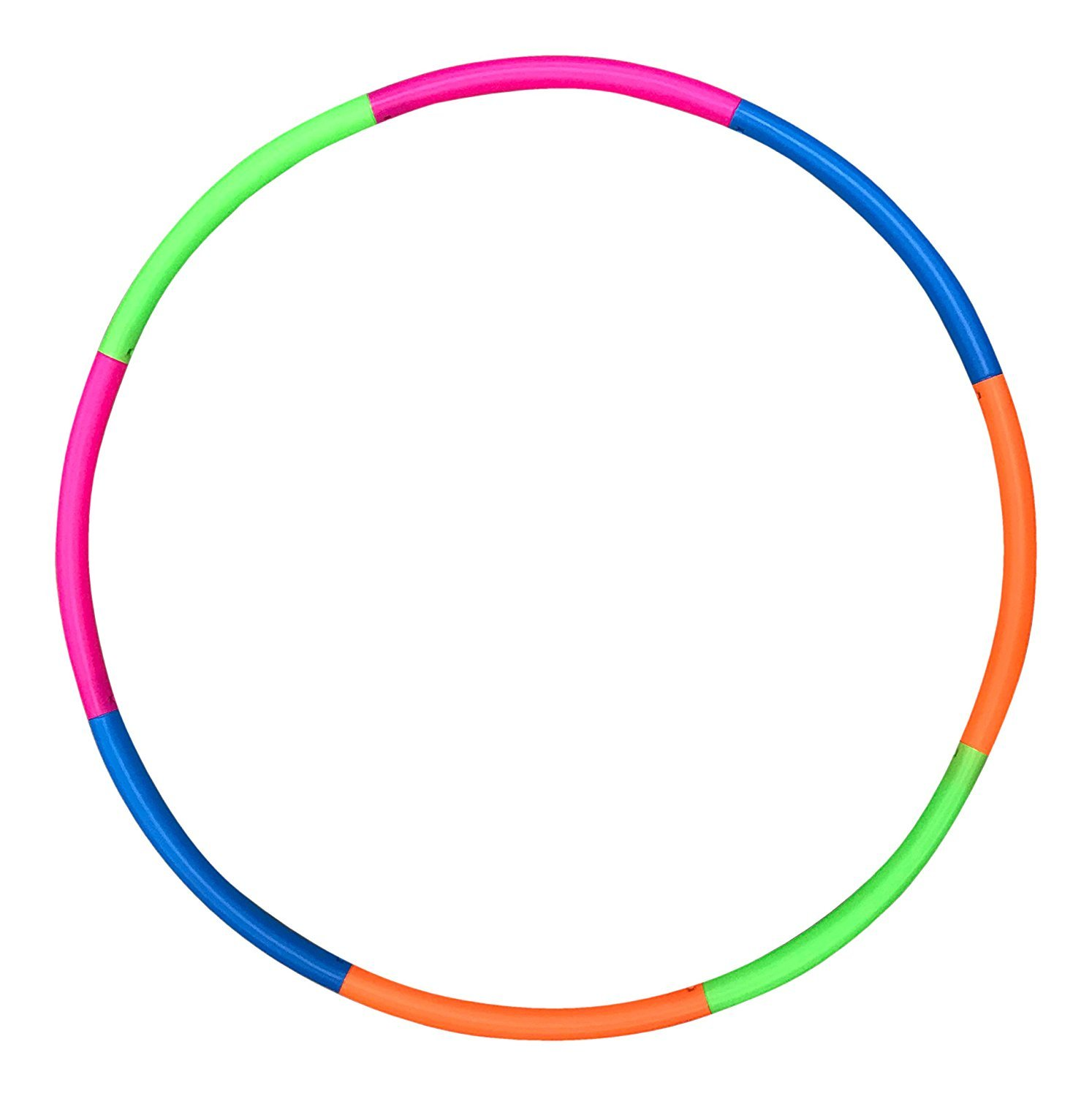 Liberty Imports 42'' Snap Together Detachable Exercise Toy Hoop for Sports & Playing (1 LB)