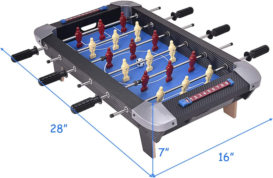 Giantex - Juego de mesa de futbolín de 28 pulgadas, mesa de ...