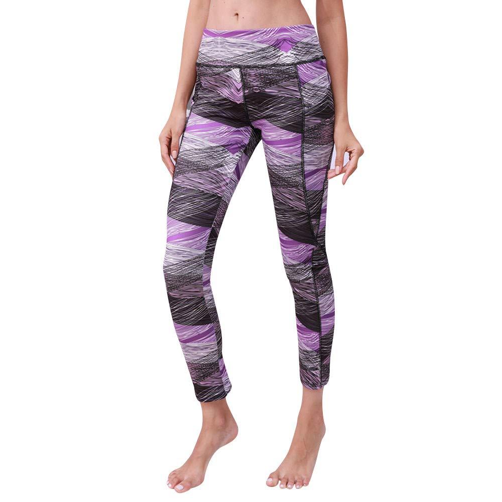 ... de Cintura Alta de Las Mujeres Impresas Deportes Gimnasio Yoga Corriendo Gimnasio Pantalones de Las Polainas Absolute: Amazon.es: Ropa y accesorios