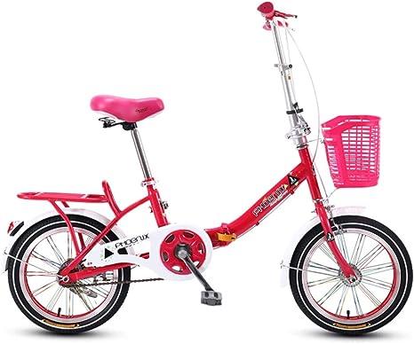 Bicicleta Plegable para niños, 16 Pulgadas, Estudiante de ...
