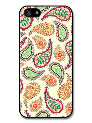 Paisley Pattern iPhone 5 Case Pastel