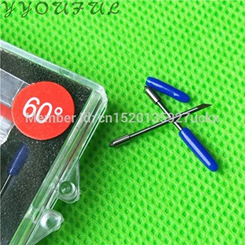 Printer Parts Graphtec Vinyl Plotter Spare Parts CB09 CE6000 60 Paper  Cutter Blade 30 45 60 Degree with Spring 2 Box 10pcs for Sale - (Color: 30