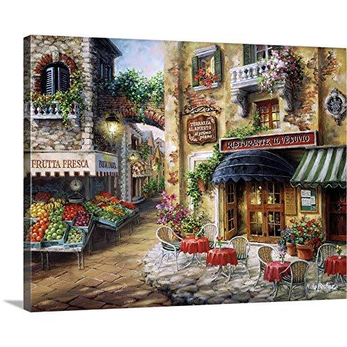 (BUON Appetito Canvas Wall Art Print, 20