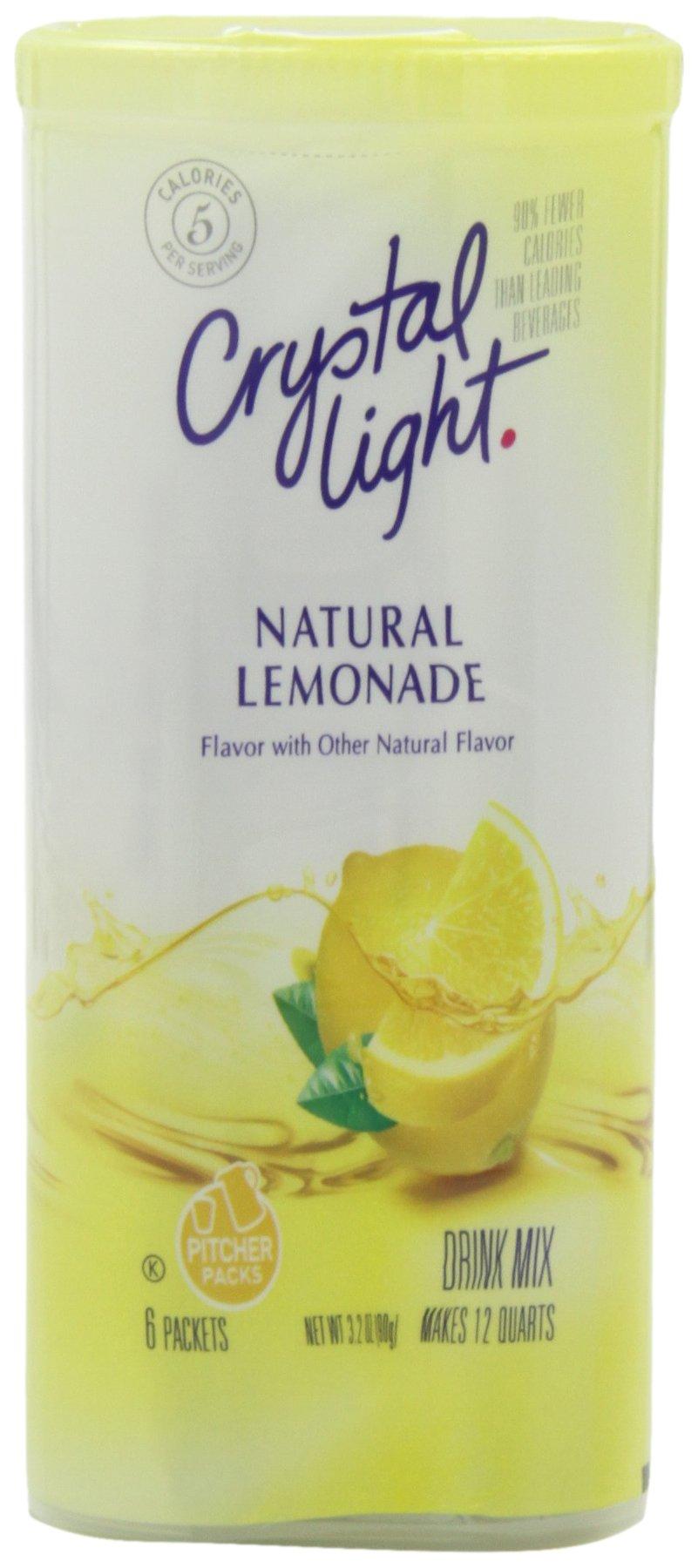 Amazon Com Crystal Light Pink Lemonade Drink Mix 12