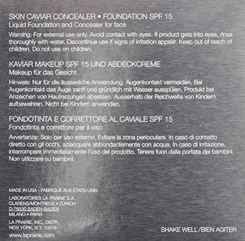 La Prairie Skin Caviar Concealer Foundation SPF 15, Soleil Peche, 1 Ounce by La Prairie (Image #5)