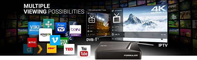 Formuler Z8 4K UHD Box: Amazon.es: Electrónica