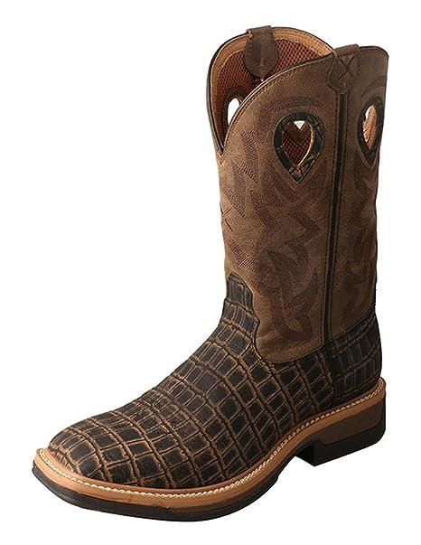 58446a701a3 Twisted X Mens Lite Cowboy Cayman Work Boot