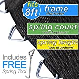 Trampoline Pro 80'' Mat with 56 Rings FOR 8ft Round Frame and 5.5'' Springs