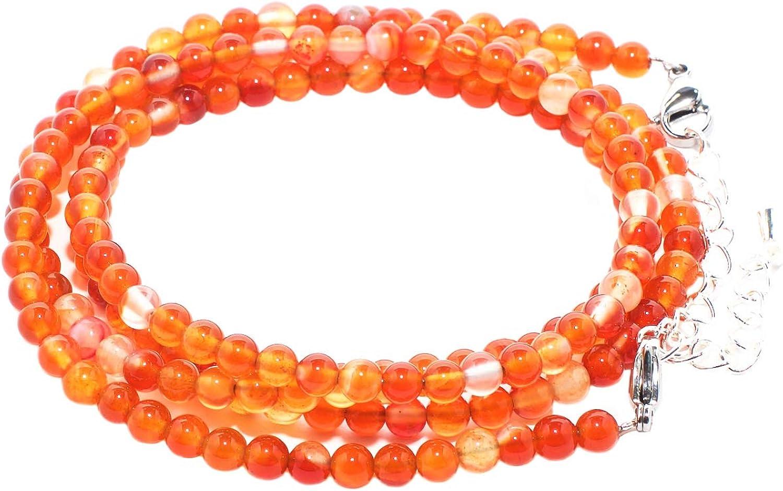 rainbow safety Pulsera Multicapa Collar para Mujer Cuentas de Piedras Naturales Ágata Amazonita Amatista Jaspe Granate BC