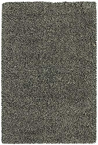 Loft Collection 520X4 Tweed Area Rug Black/Ivory/133.86
