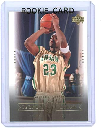 Amazon Com 2003 Upper Deck 5 National Champs Lebron James Rookie Card Mint Condition Ships In A Brand New Holder Collectibles Fine Art