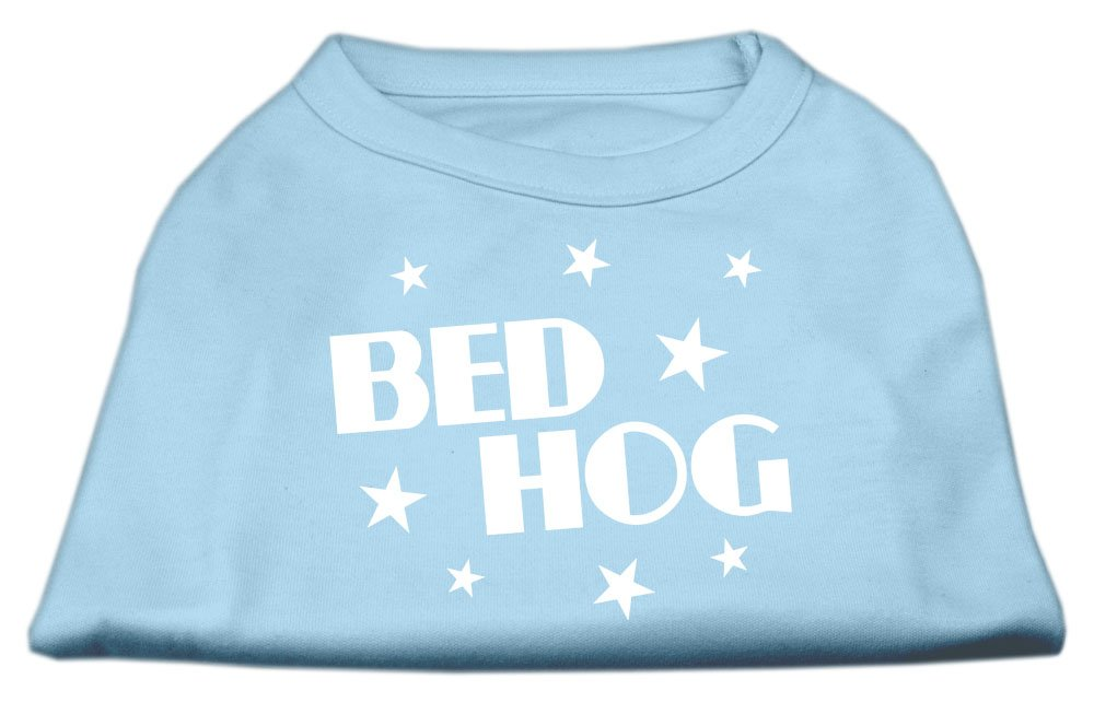 Mirage Pet Products 20-Inch Bed Hog Screen Printed Shirt, 3X-Large, Baby bluee