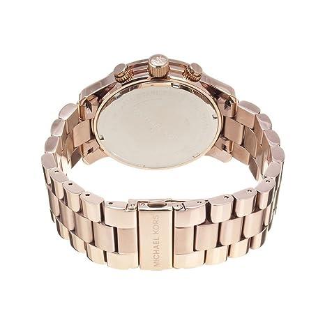 Michael Kors Reloj analogico para Mujer de Cuarzo con Correa en Acero Inoxidable MK5576: Amazon.es: Relojes