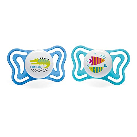 Chicco Physio Light - Pack de 2 chupetes de silicona 16-36 m ...