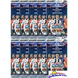 2018/2019 Topps Match Attax Champions League Soccer Collection of (10) Factory Sealed Foil Packs with 70 Cards! Look for Top Stars including Ronaldo, Lionel Messi, Neymar, Harry Kane & More! WOWZZER!