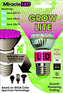 Miracle Led 605020 Grow Bulb Red And Blue Led Household