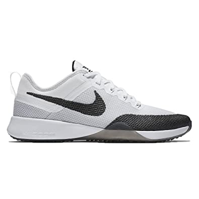 Nike Womens Air Zoom Dynamic Black White Mesh Trainers 6.5 US c6badc77a