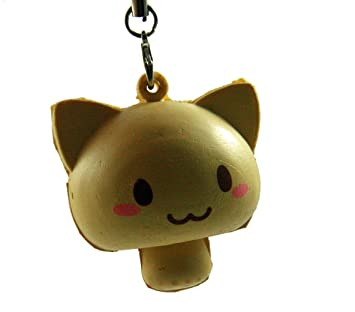 Admirable Cat Mushroom Squishy With Kawaii Smile Face By Tga Products Download Free Architecture Designs Terstmadebymaigaardcom