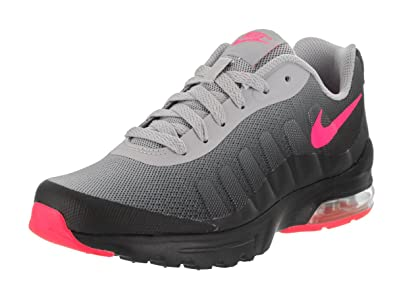 outlet store ebdba dd9af Nike Girl s Air Max Invigor Running Shoes Black Hyper Pink-wolf Grey 6.5