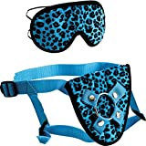 Furplay Harness & Mask - Blue Leopard