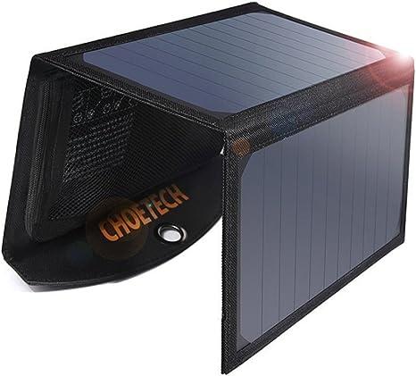CHOETECH Solar Ladegerät 19W Regenbestädiges: