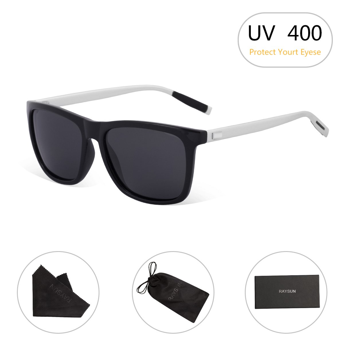 9435718acf14 Polarized Safety Sunglasses – 100% UV400 protection coating that can block  100% harmful UVA   UVB Rays. Restore true color