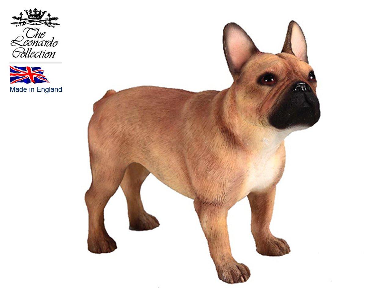 A Fine Quality Tan French Bulldog Ornament//Figurine.Leonardo.Gift Boxed