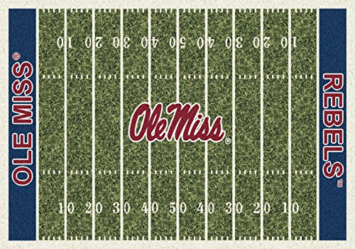 5x8 Milliken Mississippi Ole Miss Rebels NCAA Field Area Rug - Approx 5'4''x7'8'' ,,#G434G14 1T4G3484TYG414526 by Niontionbox